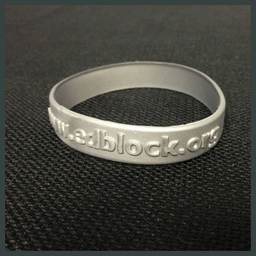 Ed Block Courage Award Wristband