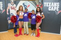 Houston Texans and Courage House Foundation